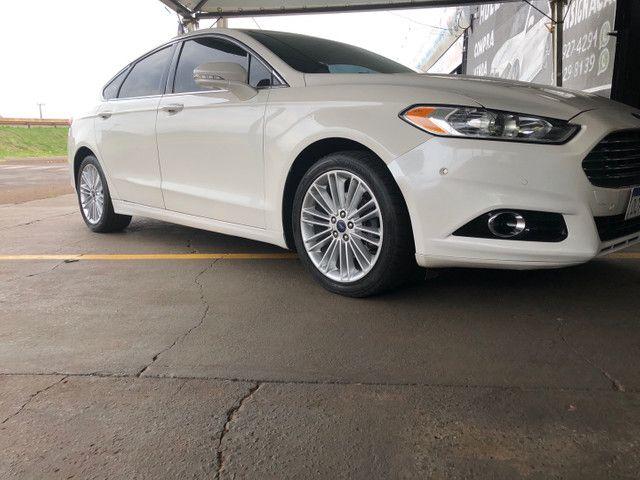 Fusion Titanium AWD branco pérola 2014 - Foto 4