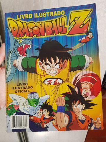 Álbum Dragon Ball Z incompleto