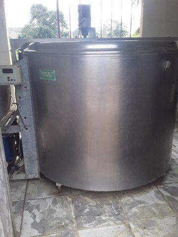 Resfriador de leite de 1550 litros