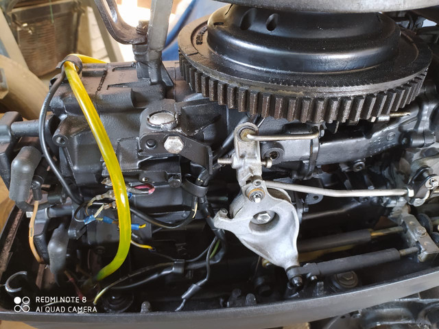 Motor johnson 45HP  - Foto 4