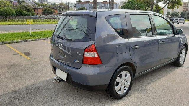Nissan Livina SL 1.6 Cinza 2010 Completa, Carro em Excelente Estado - Foto 3