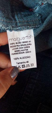 Shorts Jeans Plus Size Marguerite - Foto 6