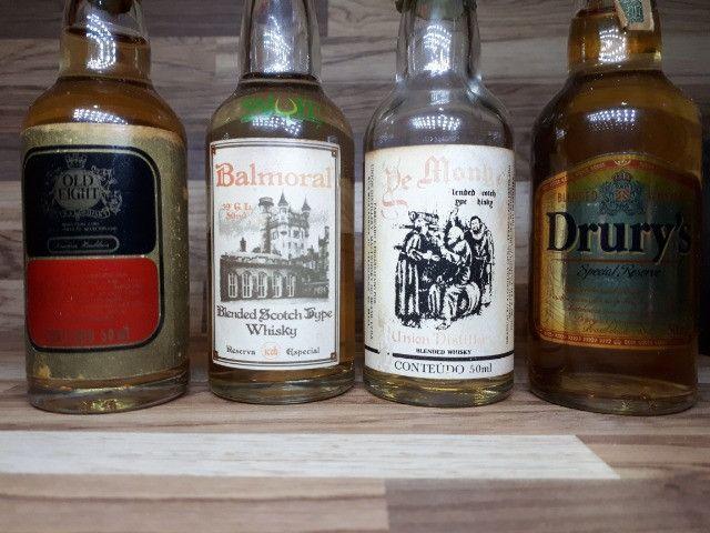 Mini Garrafinhas Colecionáveis de Whisky (Lote) - Foto 3