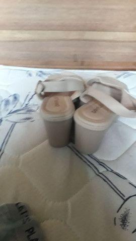 Sandália liquida confortável tam 34 $ 25 - Foto 2