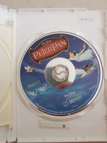 Dvd Peter Pan Edição Platinum 2010  - Foto 3
