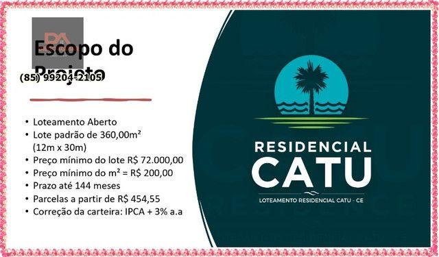 Residencial Catua Loteamento em Aquiraz &¨% - Foto 5