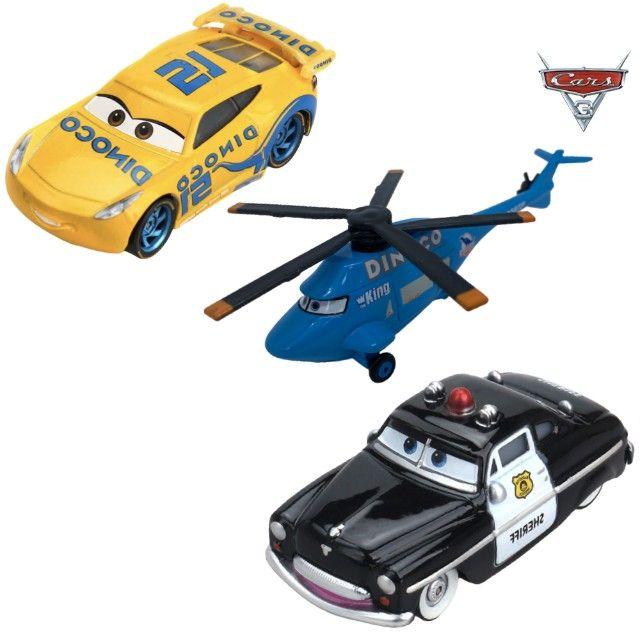 Kit 3 Carros da Disney - 1:55