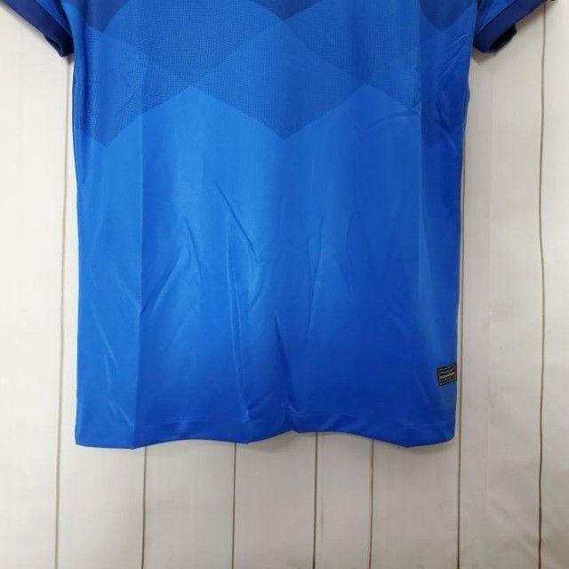 Camisa Brasil II 20/21 S/nº Azul  - Foto 5