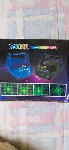 Mini laser para festas bivolt - Foto 4