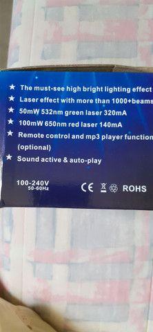 Mini laser para festas bivolt - Foto 3