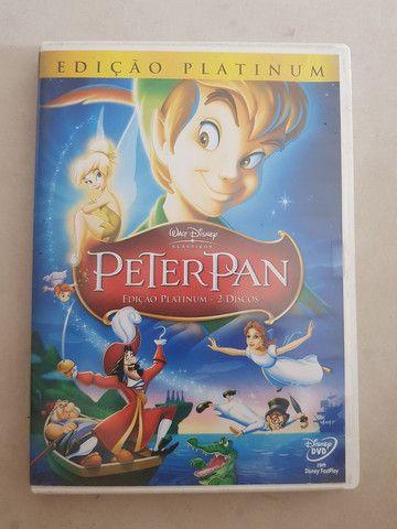 Dvd Peter Pan Edição Platinum 2010