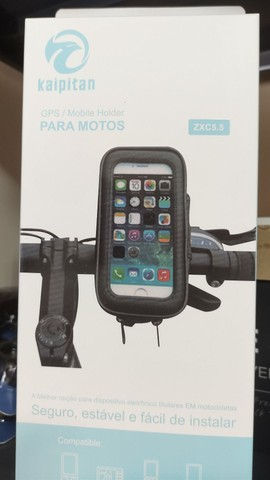 Suporte celular a prova dágua Moto/Bicicleta - Entregamos