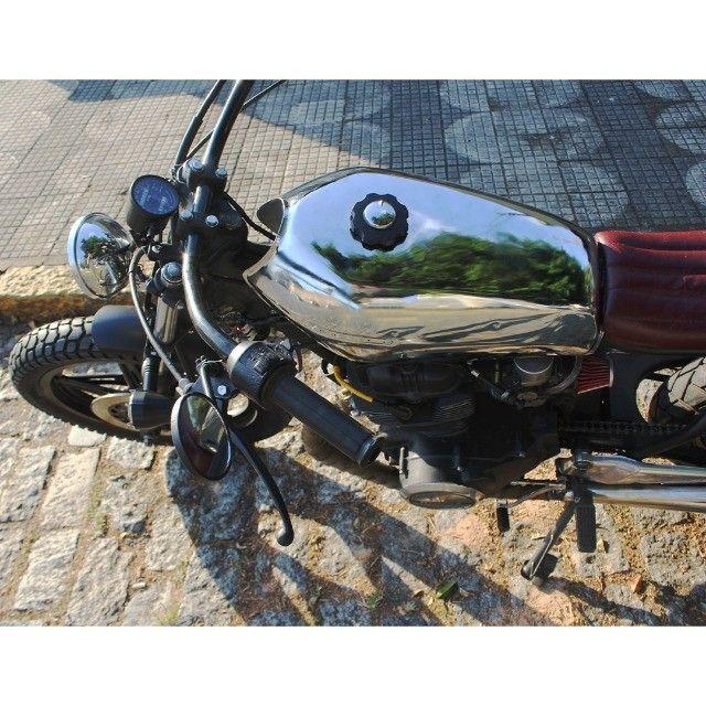 Moto Coffe Racer Custom - CB 400 82 Estilizada Tracker 1982 - Foto 13