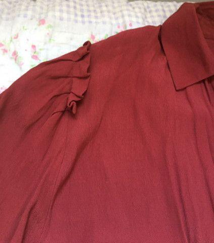Camisa vermelha  - Foto 2