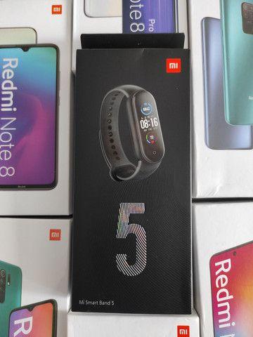 Extremamente top! Mi Band 5 da Xiaomi.. novo lacrado Garantia e entrega