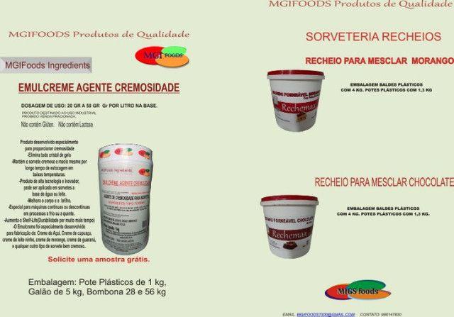 Brilho Gel Confeitaria - Foto 2