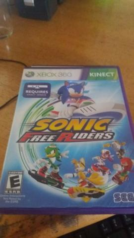 Sonic Free Riders - Xbox 360 - Kinect