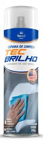 Espuma de limpeza spray Tec Brilho