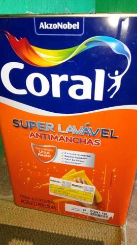 Tinta super lavável anti Manchas Coral - Algodão Egípcio