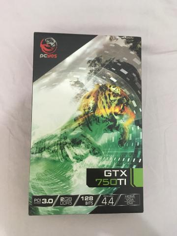 Placa de vídeo GTX750ti 2GB