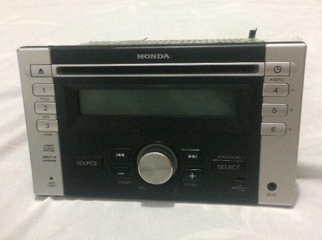 Rádio Console Usb Original Honda Fit Me-10s3345hb-01