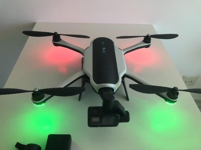 Drone Karma Go Pro + Guimble (bastão) sem câmera