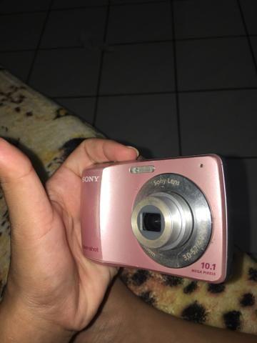 Câmera digital, Sony. Rosa