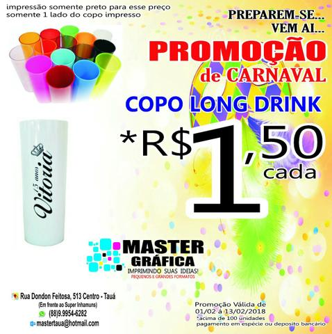 Copo long drink / inf.: (88) 9.9954-6282