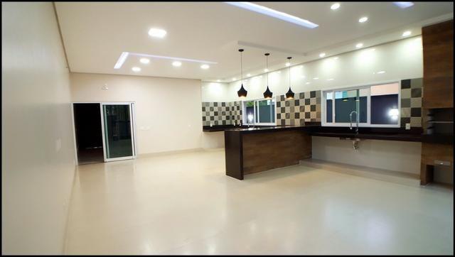Mirante do Lago - Casa 3 suítes, 203 m² c/ Lazer - NOVA