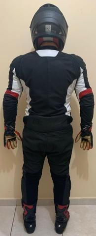 Conjunto Macacão Motociclista Completo - Foto 2