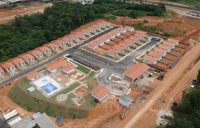 Casa em condom fechado a 5 min. da ponte Rio Negro/ Itbi Gratis/Entrada parcela - Foto 3
