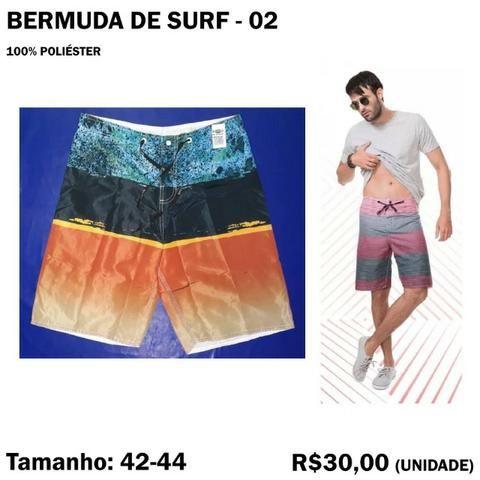 Bermuda Surf Surfista - Tamanho 42 - 44 - Foto 3