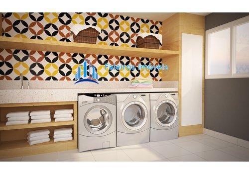 Apartamento de 1 e 2 dormitórios , com sacada e lazer - Apartamento em Lançament... - Foto 7