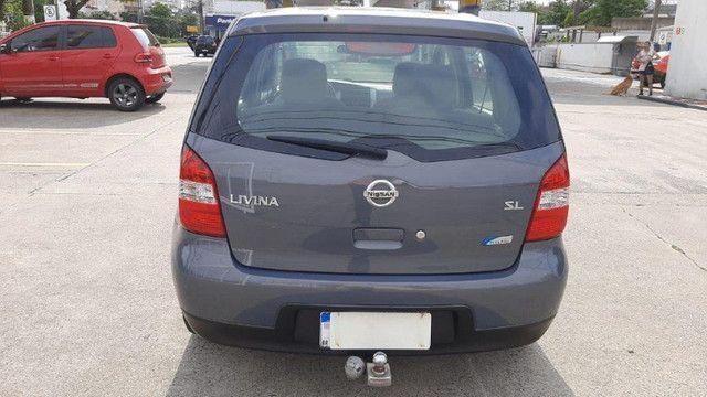 Nissan Livina SL 1.6 Cinza 2010 Completa, Carro em Excelente Estado - Foto 6