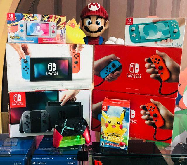 Nintendo Switch vários modelos. Visite nossa loja! - Foto 5