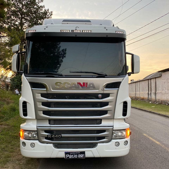 Scania R440 + bitrem graneleiro