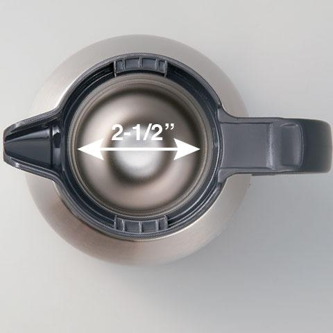 Garrafa térmica Japonesa Zojirushi aço inoxidável SH-HB10 1l - Nova! Na Caixa! - Foto 2