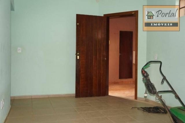 Chácara com 2 dormitórios para alugar, 250 m² por R$ 2.600/mês - Gramado Santa Rita - Camp - Foto 10