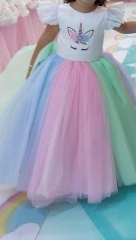 Vestido de unicórnio - Foto 2