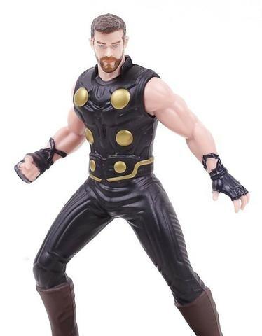 Boneco Capitão America Marvel Vingadores Avengers Capitan - Foto 3