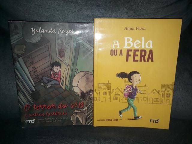 Vendo 2 livros paradidáticos em perfeito estado