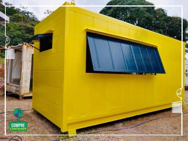Lanchonete em Container Reefer-R$ 14.900,00