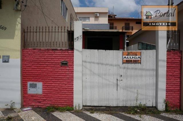 Terreno para alugar, 100 m² por R$ 600/mês - Vila Tavares - Campo Limpo Paulista/SP