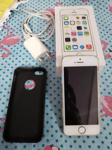 Iphone 5s gold 16gb zerado Anatel 4g - Foto 6