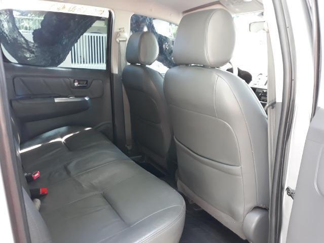Toyota hilux CD 4x4 SRV 171cv - Foto 12