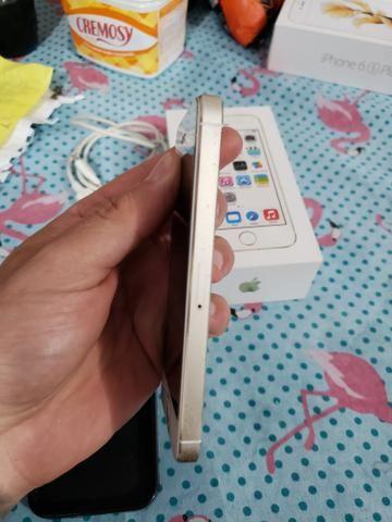 Iphone 5s gold 16gb zerado Anatel 4g - Foto 2
