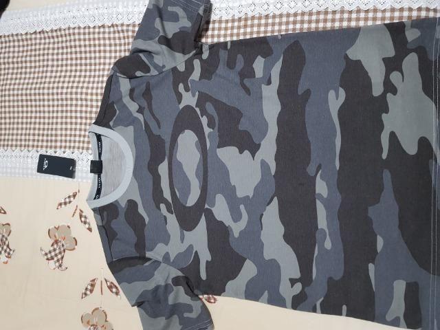 Camiseta Oakley Padronagem Militar (Original) - Foto 3