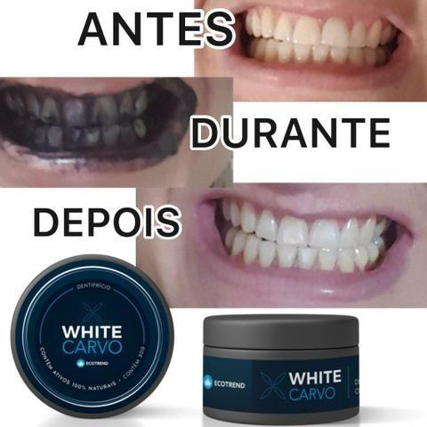 White carvo clareador dental - Foto 2