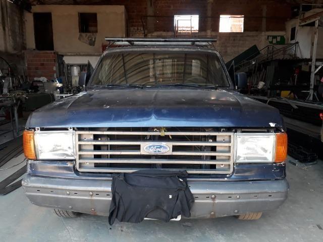 Ford F100 94 Diesel cabine estendida - Foto 5
