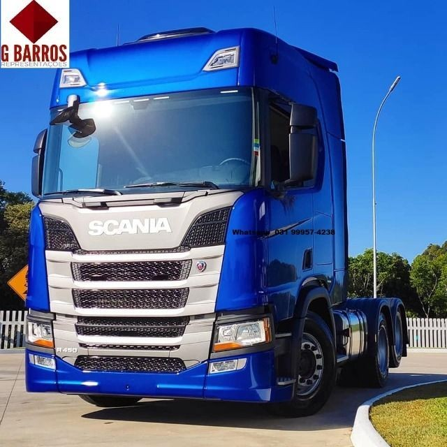 Scania R450 6x2 Aut Completo 2021